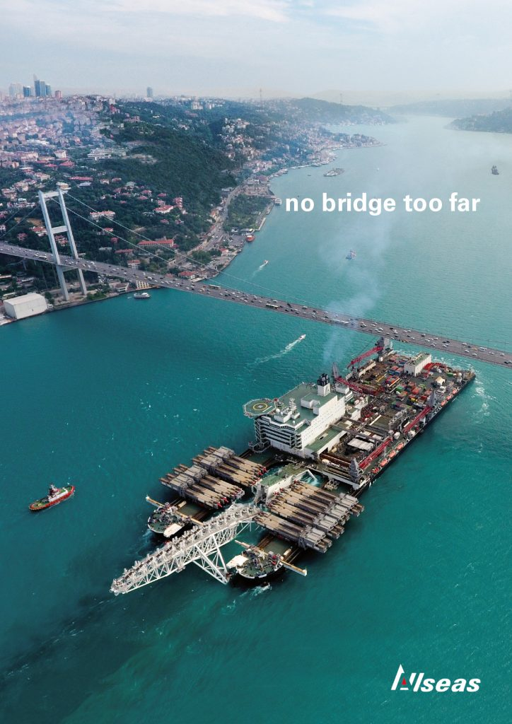 Allseas - no bridge too far